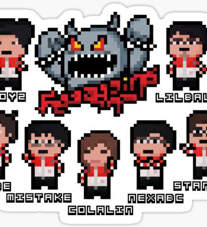 Taipei Pixel Assassins Sticker