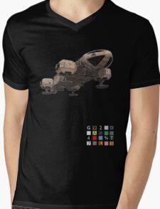 Space 1999 Eagle Smaller Mens V-Neck T-Shirt