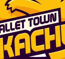 Pallet Town Pikachus Sticker