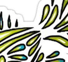 Gold Fish Design Sticker