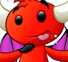 Devil Character - #4 Sticker