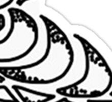 Crow Design Sticker