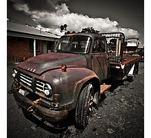 Bedford Truck Photographic Print