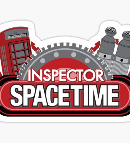 Inspector Spacetime Blorgon Edition Sticker Sticker