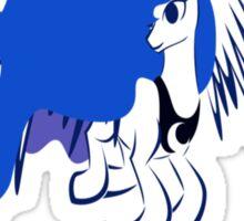 Princess Luna Outline Sticker