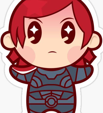 Commander FemShep Sticker