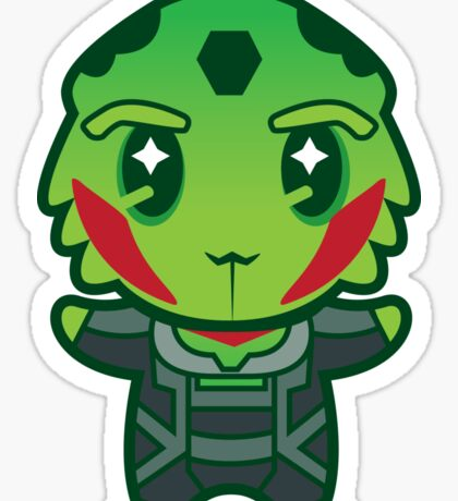 Drell assassin Sticker