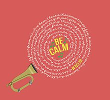 Be Calm by grcekang