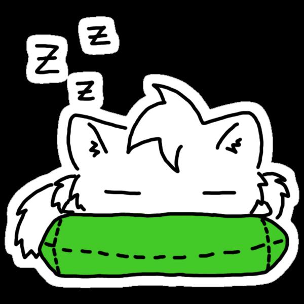 Sleepy Kitty! by Mroo
