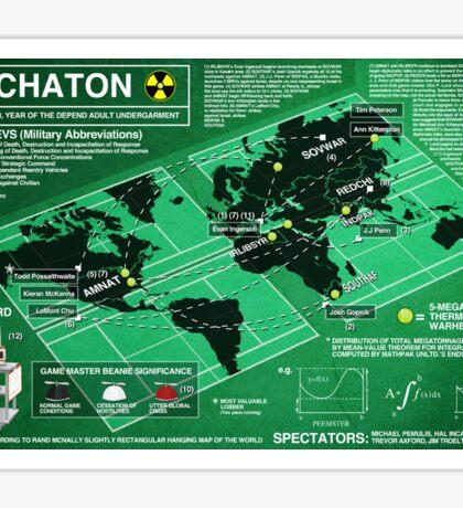 Eschaton Sticker