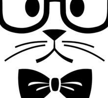 Cheshire Originals - Nerdy Cat Sticker Sticker