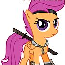 My Name Is Scootaloo  by eeveemastermind
