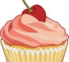 Cherry Cupcake by Korikian