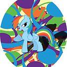 Cool Rainbow Dash  by eeveemastermind