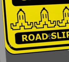 Caution - BANANAS AHEAD Sticker