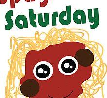 Spaghetti Saturday by Rachael Whitaker