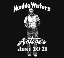 Muddy Waters Antone's Baby Tee