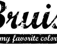 Bruise is my favorite color Decal v3 by Scott Harrison