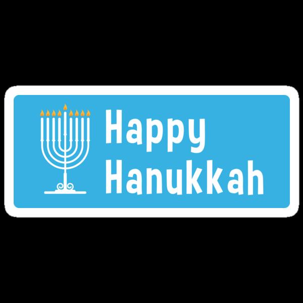 Hanukkah sticker by Alejandro Durán Fuentes