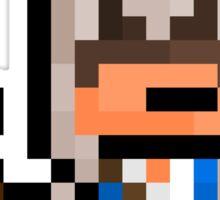 "Pixel Ratonhnhaké:ton / Connor (""Assassins Creed 3"") Sticker Sticker"