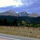 Long's Peak in Colorado by Margot Ardourel