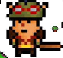 Teemo, The Shrooming Pixel Sticker