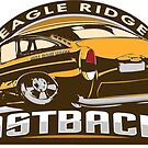 Eagle Ridge Fastbacks - Volkswagen sticker by KombiNation