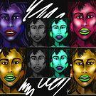 """""""Faces"""" by Steve Farr"""