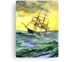 Sea voyage Canvas Print