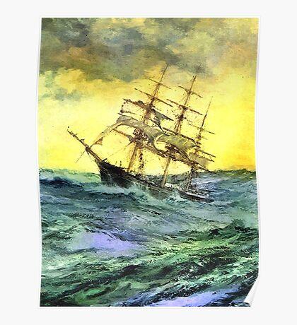 Sea voyage Poster