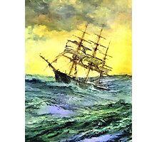 Sea voyage Photographic Print