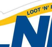 Loot N Pillage Sticker