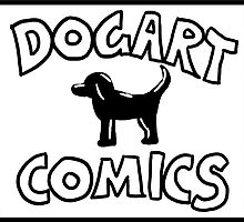 Dogart Comics Logo by Matt Simpson