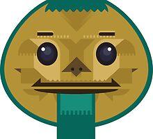 Goron Mask by Bens