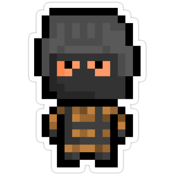 "Pixel ""Gurlukovich Soldier"" Sticker - Metal Gear Solid by PixelBlock"
