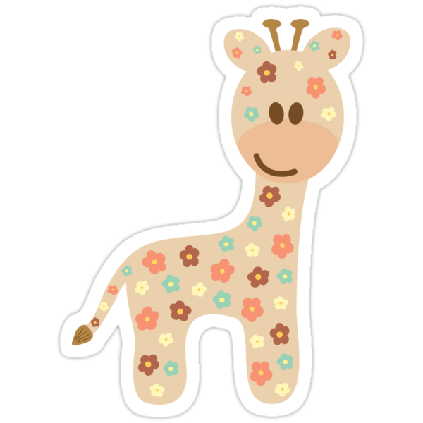 Baby giraffe by Ana Marques