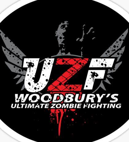 Woodbury Ultimate Zombie Fighter(sticker) Sticker