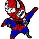 Zombie Spiderman by Kai Shepard