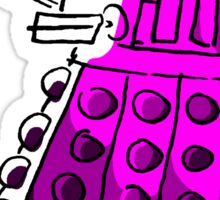 Purple Dalek Sticker