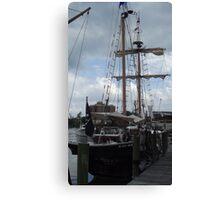 Replica Ship Canvas Print