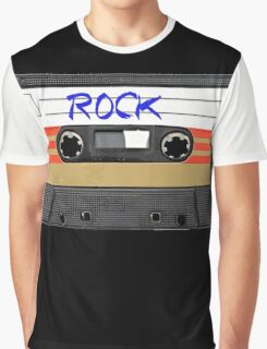 Rock and Roll music cassette Graphic T-Shirt