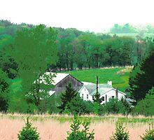 Poster Perfect Pennsylvania Pasture by M-EK