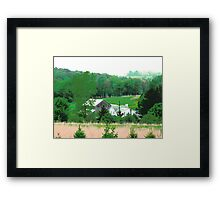 Poster Perfect Pennsylvania Pasture Framed Print