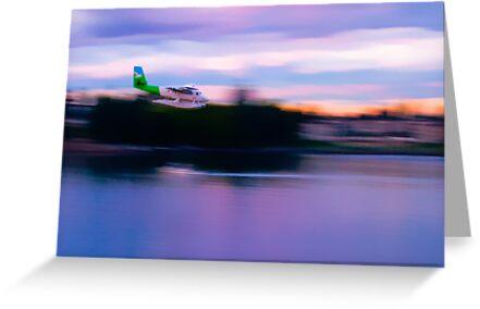 Twin Otter Float Plane by Derek Lowe