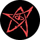 Elder Sign (Circular with Dark Background) by Scribblepinch