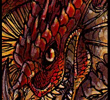 Fire dragon by Anarchpeace