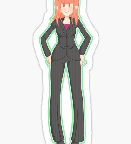 Donna Noble (Green) Sticker