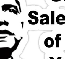 Gun Salesman of the Year Sticker