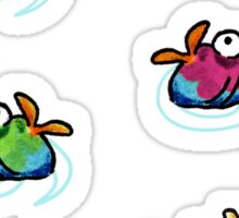 Tropical Fish Sticker Set Sticker