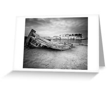 Where Boats Die.. Greeting Card